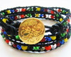 Pulseira Tribal Cristais