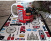 Caneca London Scrapbook