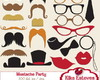 Clipart Festa do Bigode