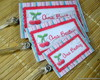 Kit 3 bagtags - Cherry