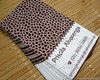 Calling Cards - Animal print