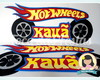 Plaquinha Hot wheels