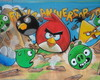 Painel Angry Birds