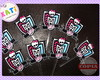 40 toppers Monster High