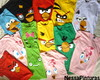 Camiseta Angry Birds Infantil