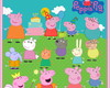 Kit Scrapbook Digital Peppa Pig