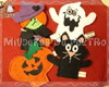 Kit Dedoches Halloween - Bruxa e Cia.