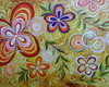 PAINEL 70x100 FLORAL MODERNO COD 874