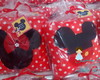 Almofadas: Mickey e Minnie