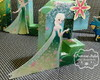 Letra 3D decorada -Frozen Fever