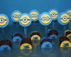 Forminhas para doces Minions + toppers