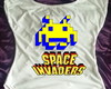 Camisa Gola Canoa Space Invaders 05
