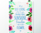 Little Flower - Quadro Decorativo