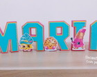 Letras 3 D Shopkins