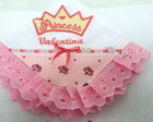 Kit de fraldas bordadas Princess