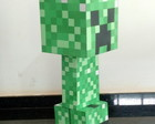 Escultura creeper Minecraft