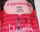 Kit Higiene Pink e Preto Paris