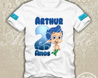 Blusa Bubble Guppies Personalizada
