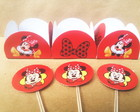 50 Forminhas Minnie + 10 Topper R$ 25,00