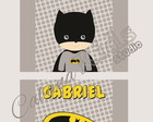 KIT quadro Batman BABY