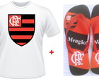 Kit Presente Flamengo Chinelo + Camiseta