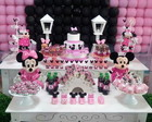 KIT FESTA PERSONALIZADO MINNIE PINK