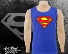 Camiseta regata do Super-Man