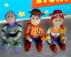 Lembrancinhas Toy Story em biscuit