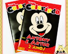 Revista Mickey Mouse Personalizada