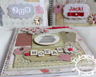 Caderno Decorado Scrapbook