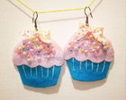 Brincos Cotton Cupcake