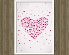 Poster Love Arte Digital A4