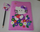 Caderno e ponteira Hello Kitty