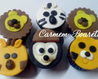 MINI CUP CAKE MICKEY SAFARI