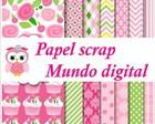 papel digital cupckace 16-18