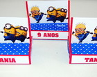 "Duo wafer com chocolate ""Minions"""