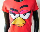 Baby look Angry Bird Red
