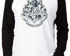 Camiseta Raglan Harry Potter #6 Hogwarts