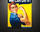 Poster We Can Do It (80x120 cm)