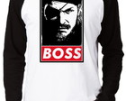 Camiseta Raglan Metal Gear Solid #1 Boss