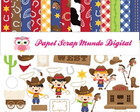 PAPEL DIGITAL COWBOY 1-5