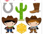 PAPEL DIGITAL COWBOY 1-7
