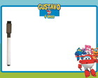 Lousa Personalizada Super Wings