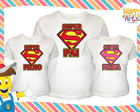 Kit camisetas Super Pai