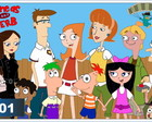Painel Aniversario Phineas e Ferb