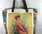 Bolsa Estampa Pin-up Girl