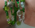 Pulseiras Crystallize* Green Leaf