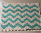 Tapete Croche Chevron