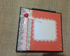 MINI ALBUM scrapbook( presente de natal