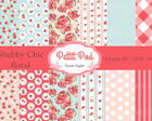 Papel digital Shabby Chic